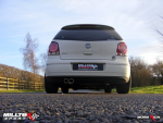 CAT-BACK VW Polo 1.8 T Non-resonated Twin 76,2mm Jet